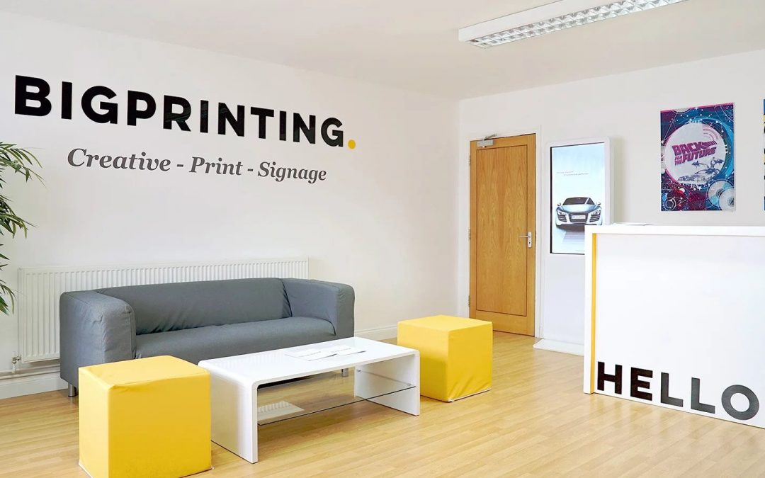 Office fit out corporate printing