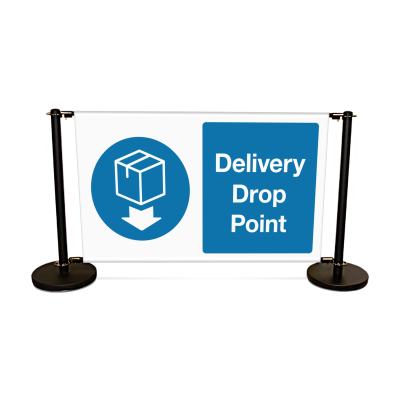 Delivery Drop Point Coronavirus Signage