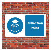 Collection Point Sign