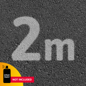 2m Outdoor Social distancing template