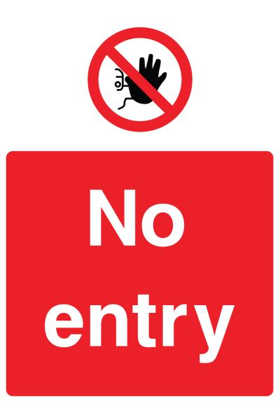 No Entry Sign