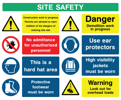 Site Safety Generic Sign C