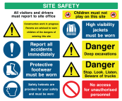 Site Safety Generic Sign D