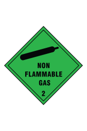 Non Flammable Gas 2 Sign