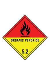 Organic Peroxide 5.2 Sign