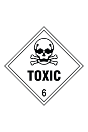 Toxic 6 Sign