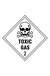 Toxic Gas 2 Sign
