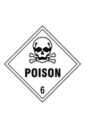 Poison 6 Sign
