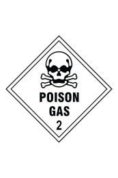 Poison Gas 2 Sign