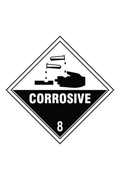Corrosive 8 Sign