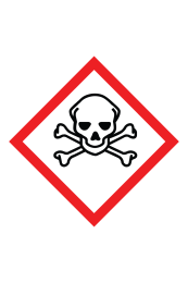 Toxic GHS Sign