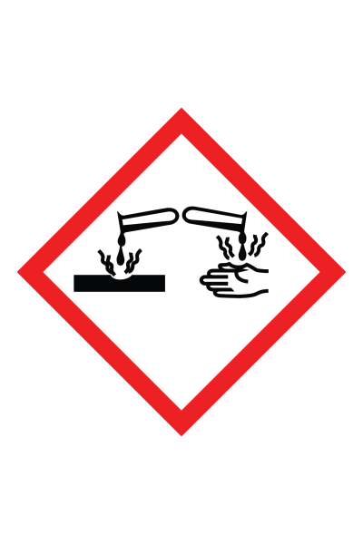 Corrosive GHS Sign
