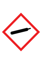 Compressed Gas GHS Sign