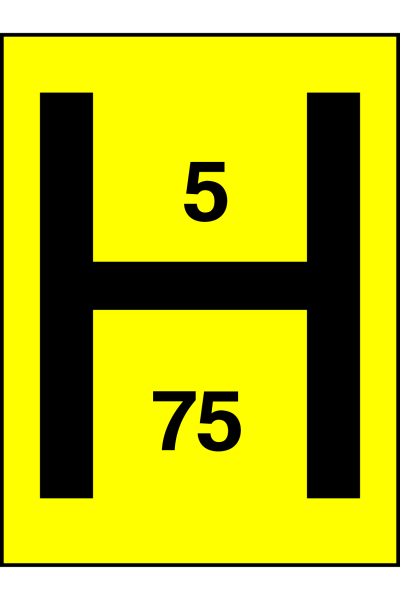 Fire Hydrant 5 75 Sign