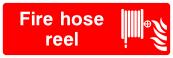 Fire Hose Reel Sign - Wide