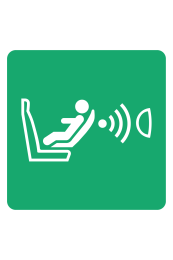 Child Seat Presence And Orientation Detection System (CPOD) Sign