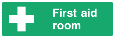 First Aid Room Sign - Wide
