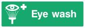 Eye Wash Sign - Wide