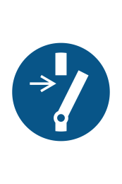 Disconnect Before Carrying Out Maintanance Sign - Icon
