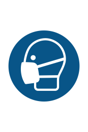 Wear Face Mask Sign - Icon