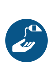 Use Barrier Cream Sign - Icon