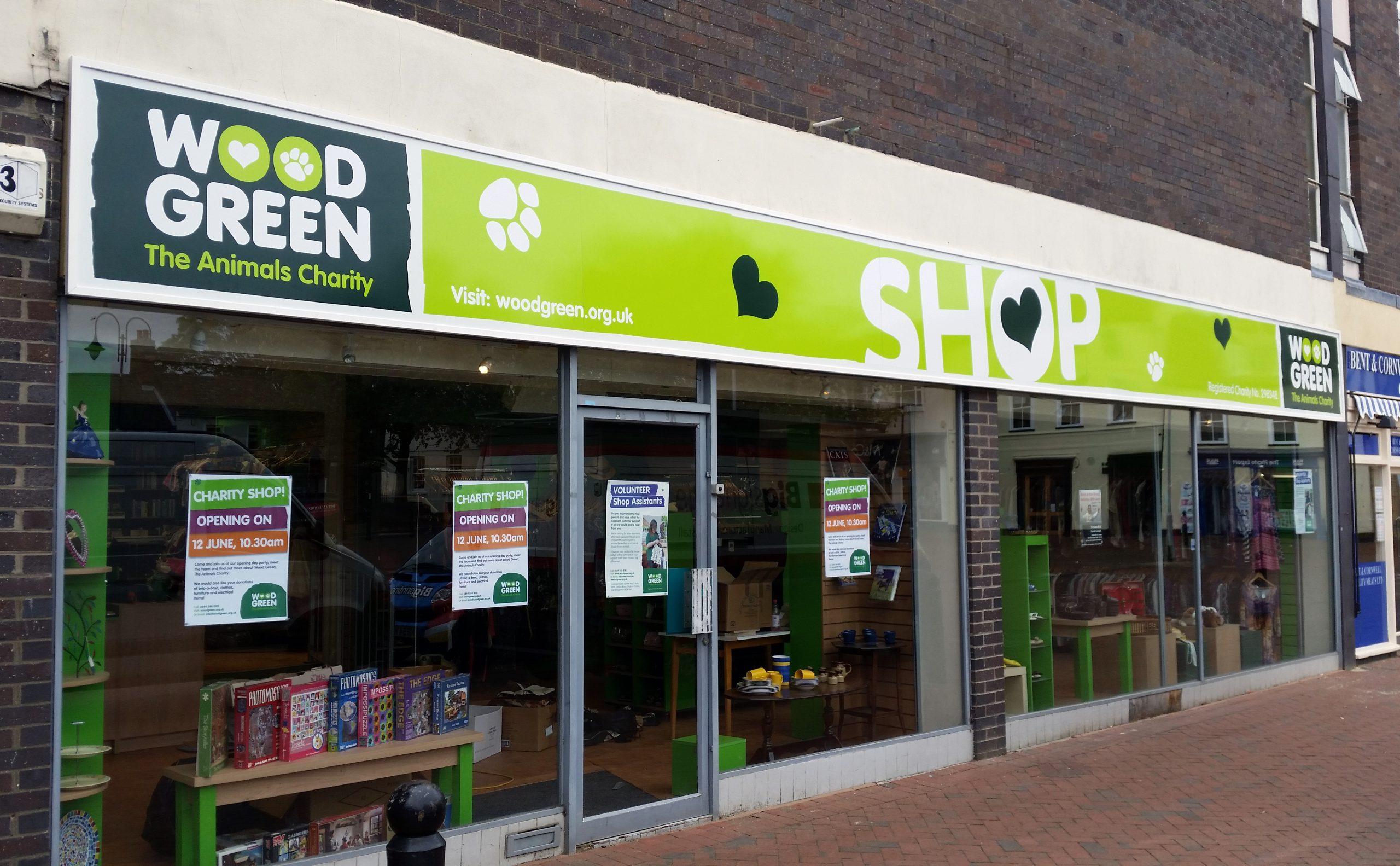 Cambridge shop signs
