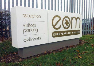 Essex corporate signage