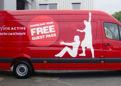 Example Van Graphics