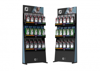 Golf Point Of Purchase Stands