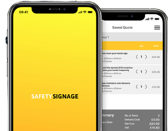 We want to change the way Safety Signage is ordered – here's how we're going to do it